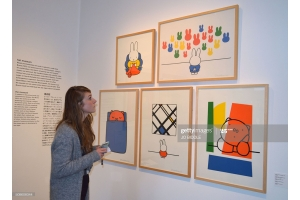 Miffy at the gallery - The Art of Dick Bruna