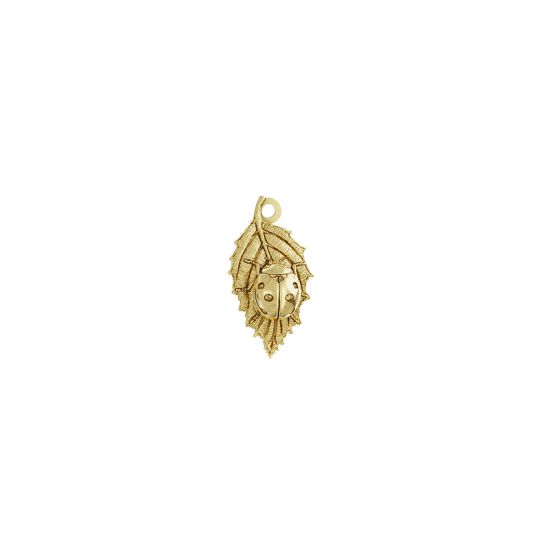 Ladybird Charm 18ct Gold Vermeil