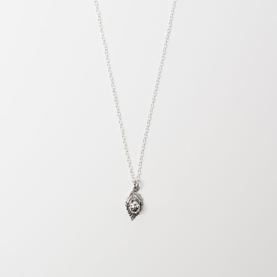 Ladybird Charm Necklace Sterling Silver