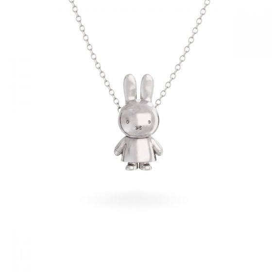 Miffy Body Necklace Sterling Silver