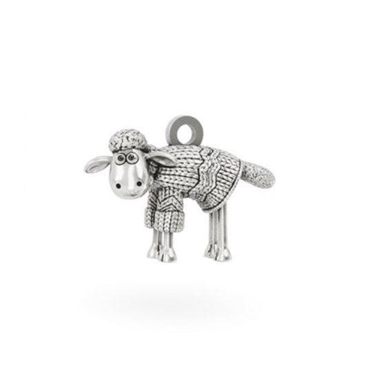 Sterling Silver Shaun in a Jumper Charm