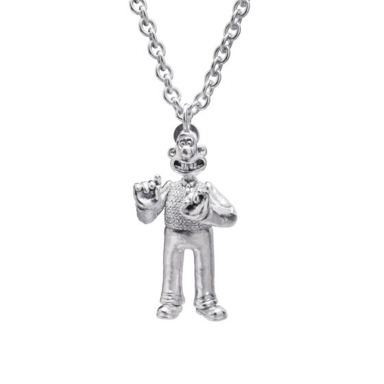 Sterling Silver Standing Wallace Necklace Set