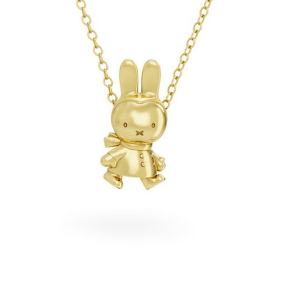 Winter Miffy 18ct Gold Vermeil Necklace