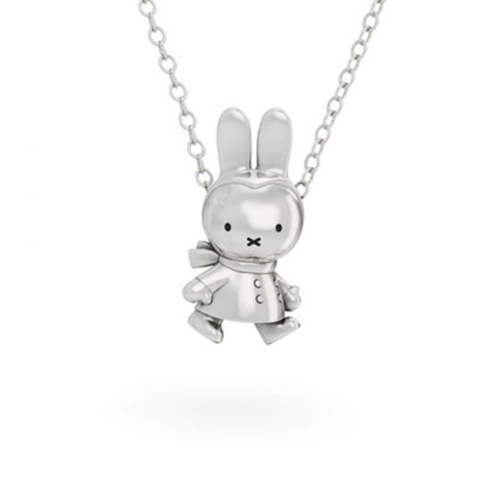 Winter Miffy Sterling Silver Necklace