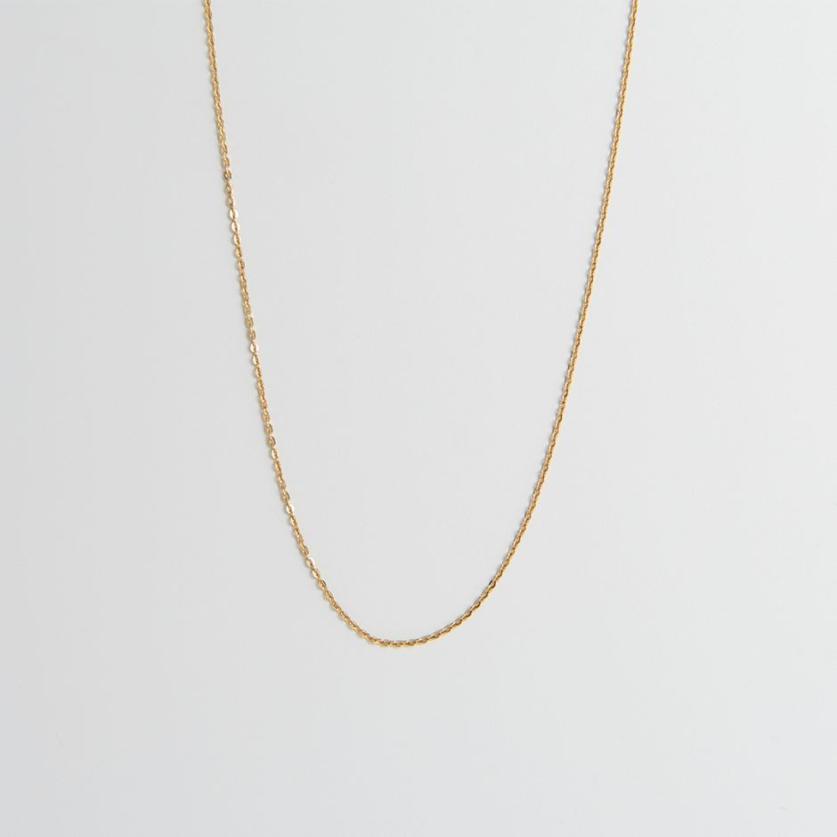 18ct Gold Vermeil Fine Trace Chain