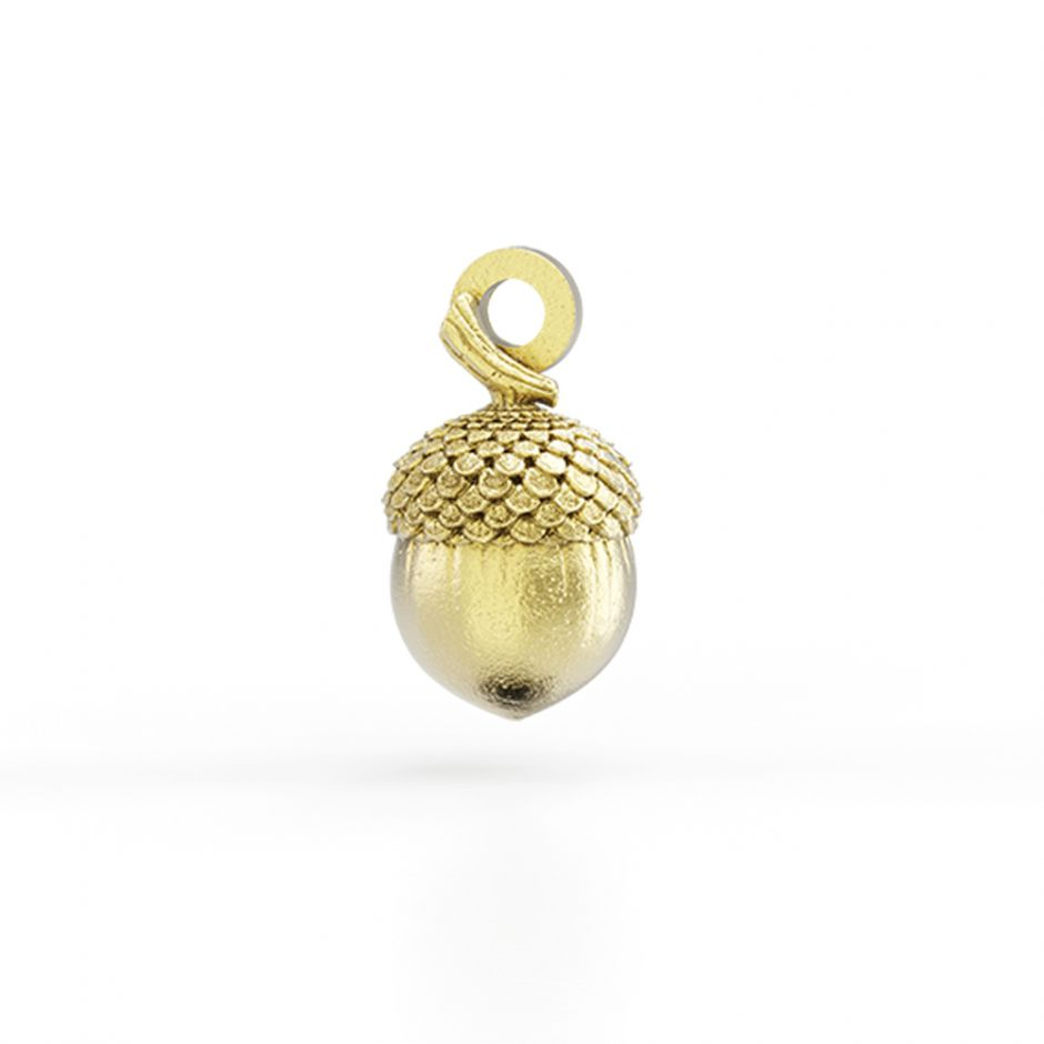 Watership Down - Gold Vermeil Acorn Charm