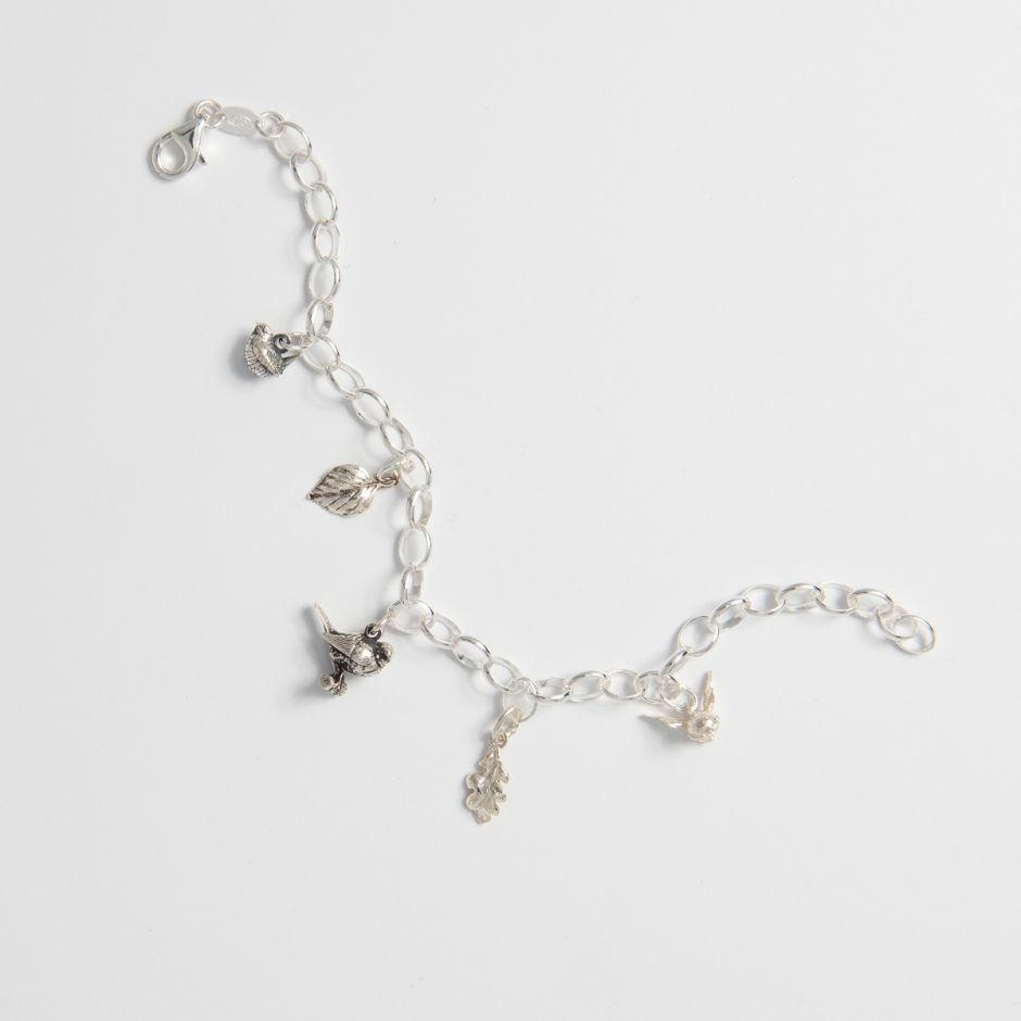 The Birds and The Bees Charm Bracelet
