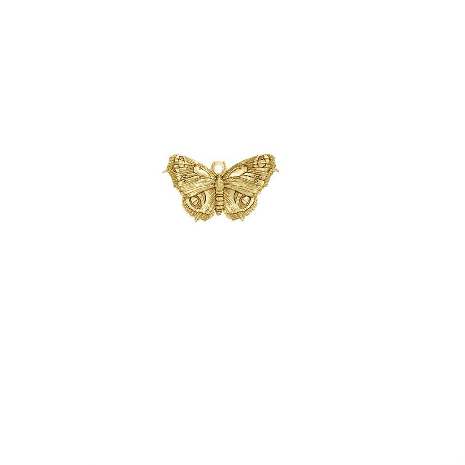 Butterfly Charm 18ct Gold Vermeil