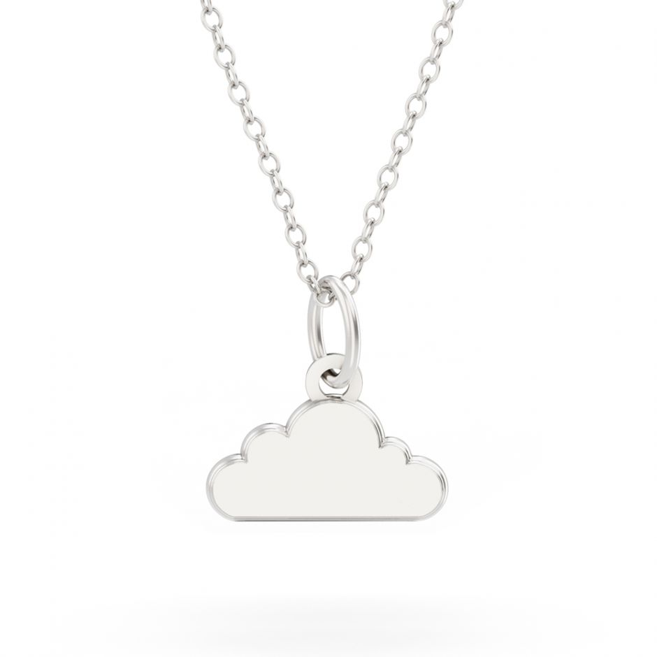 Shaun The Sheep - Sterling Silver Cloud Necklace Set