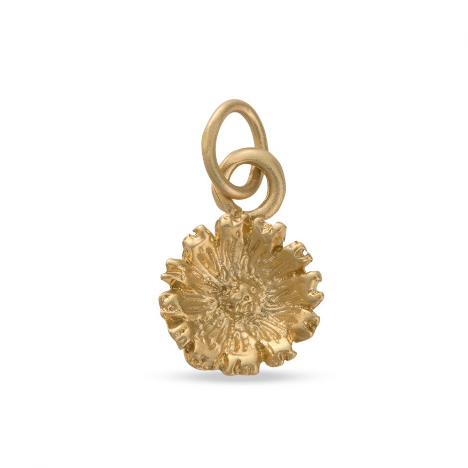 Licensed to Charm - Gold Vermeil Daisy Charm