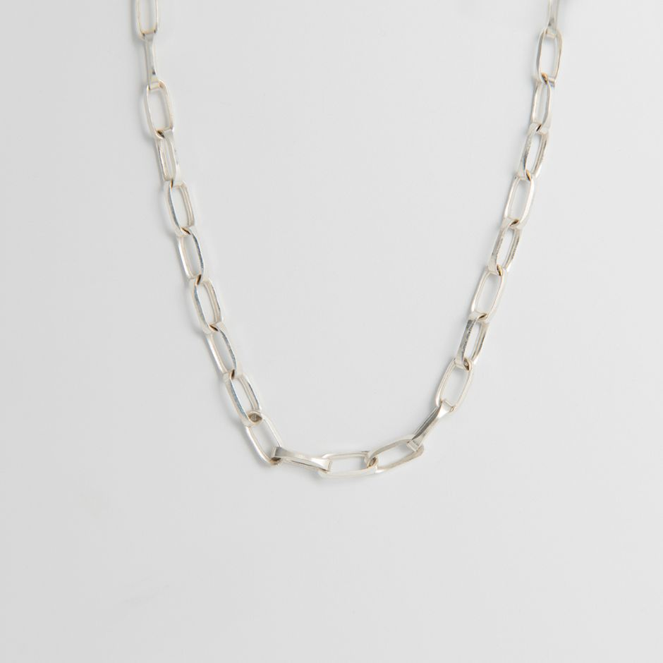 Diamond Cut Oval Neck Chain
