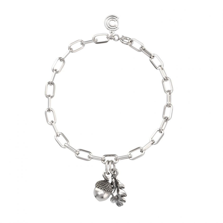 Watership Down - Sterling Silver Double Charm Bracelet