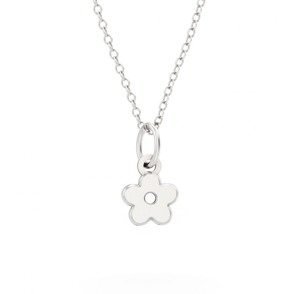 Shaun The Sheep - Sterling Silver Flower Necklace Set