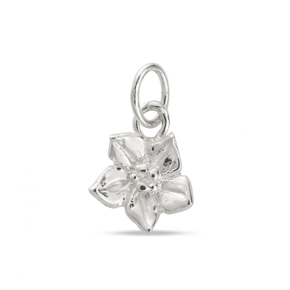 Licensed to Charm - Sterling Silver Forget Me Not Charm