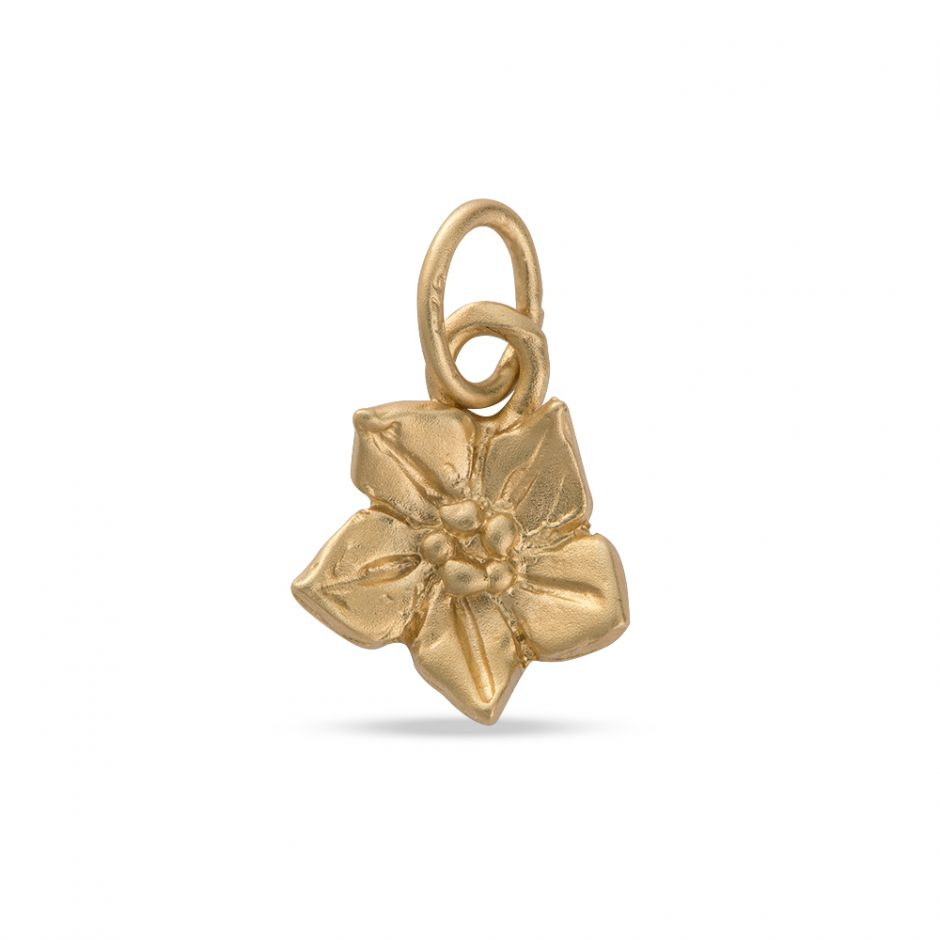 Licensed to Charm - Gold Vermeil Forget Me Not Charm