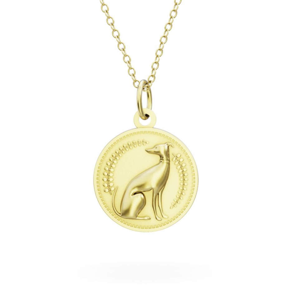Licensed to Charm - Gold Vermeil Enchanted Animals Dog Necklace Set