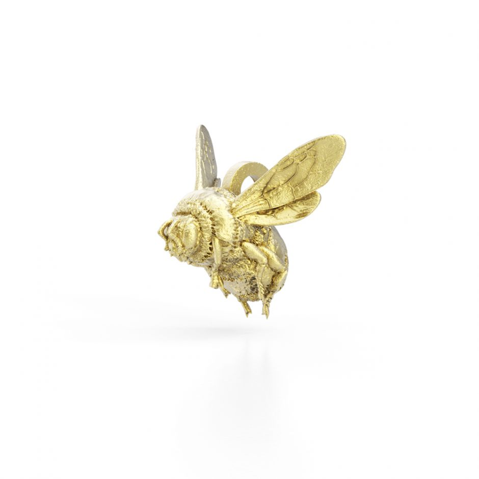 Watership Down - Gold Vermeil Bee Charm