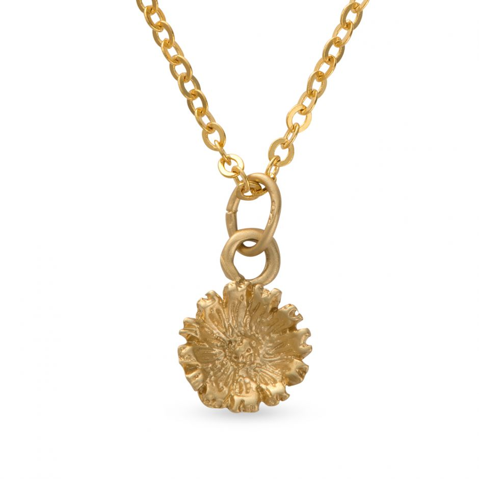 Licensed to Charm - Gold Vermeil Daisy Necklace Set