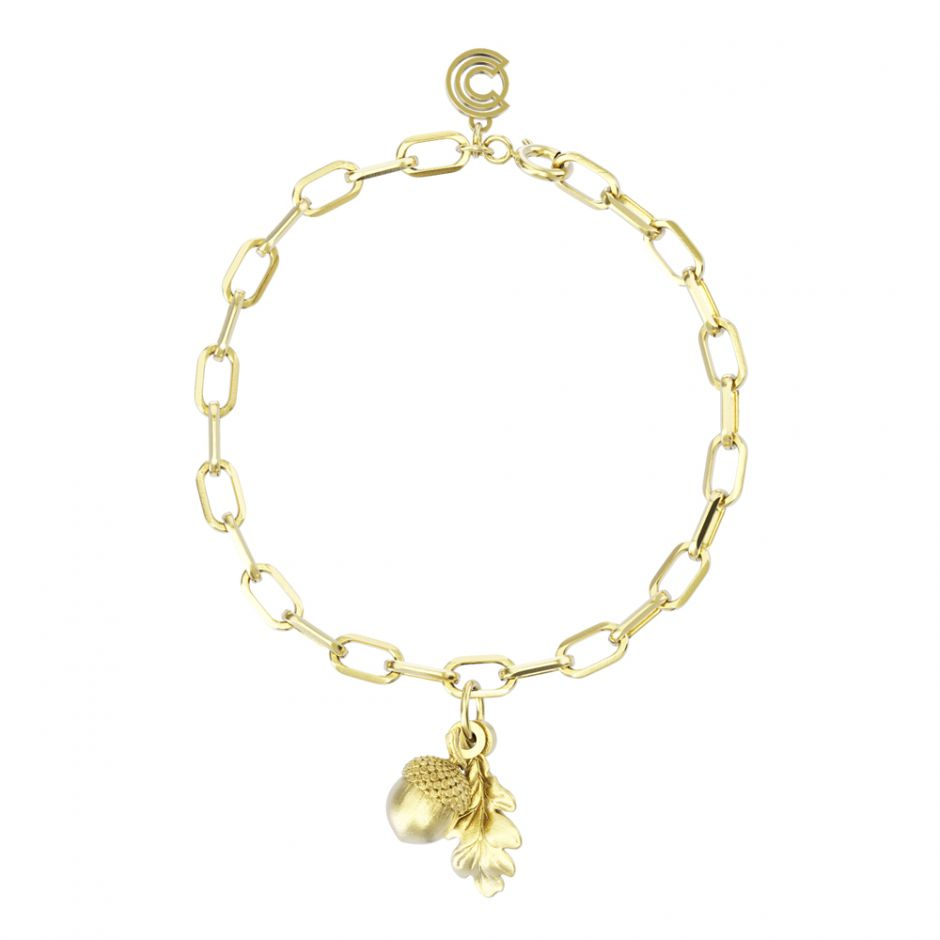 Watership Down - Gold Vermeil Double Charm Bracelet