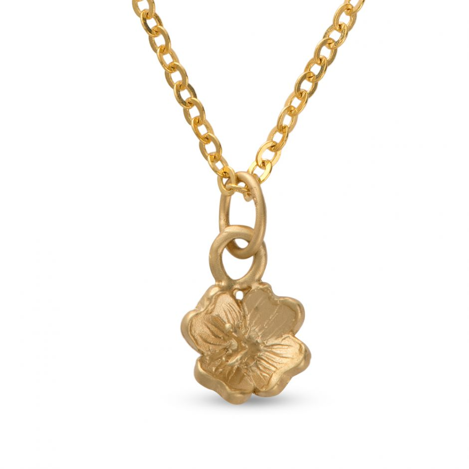 Licensed to Charm - Gold Vermeil Primrose Necklace Set