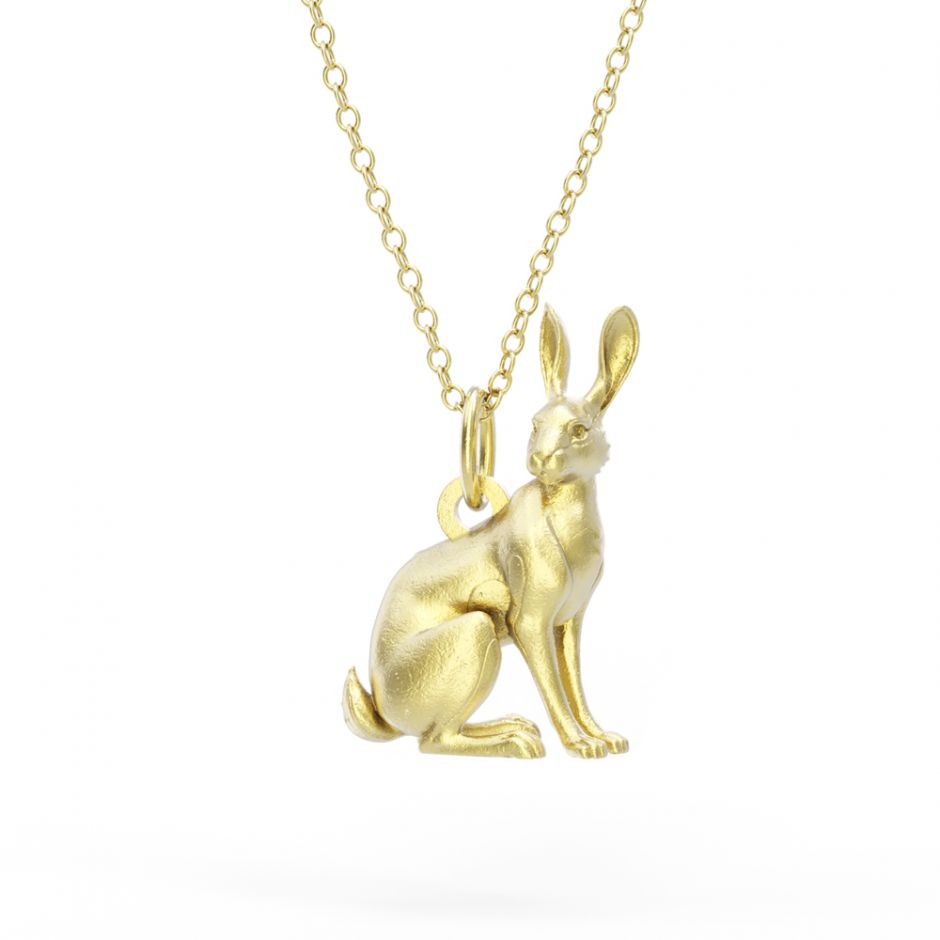 Watership Down - Gold Vermeil Hazel Necklace Set