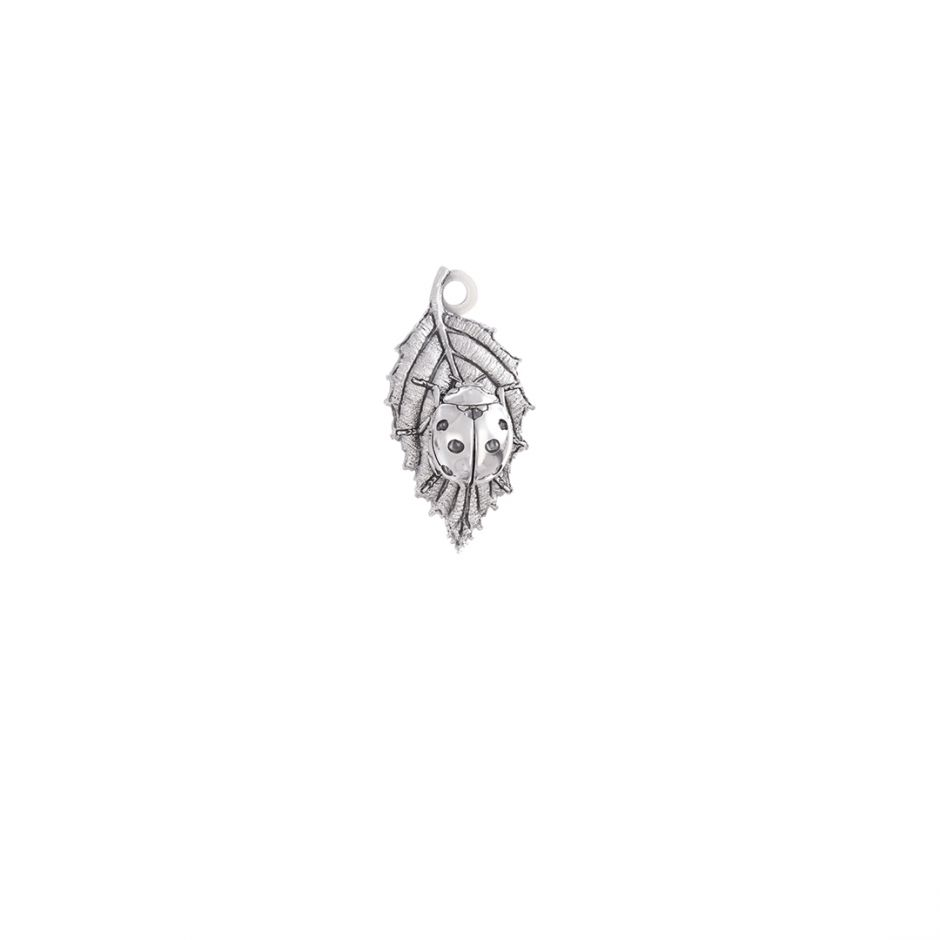 Ladybird Charm Sterling Silver