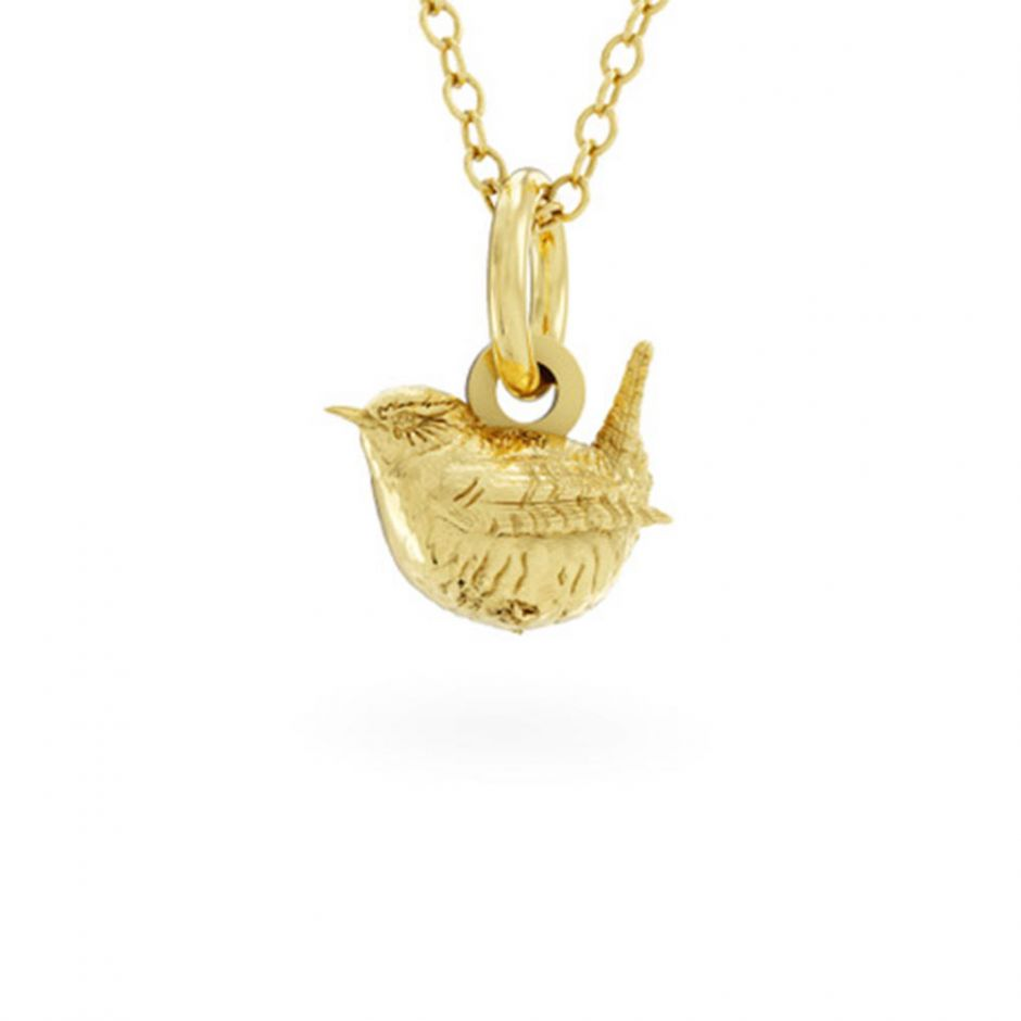 Wren Necklace 18ct Gold Vermeil