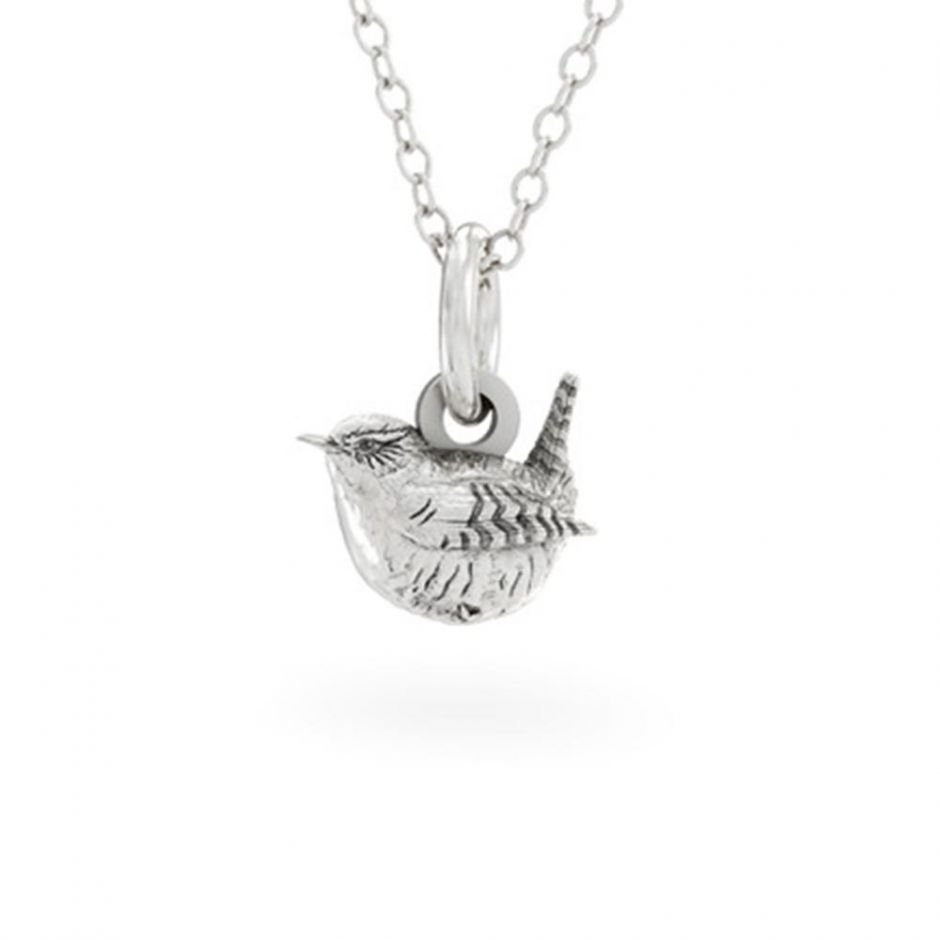 Wren Necklace Sterling Silver