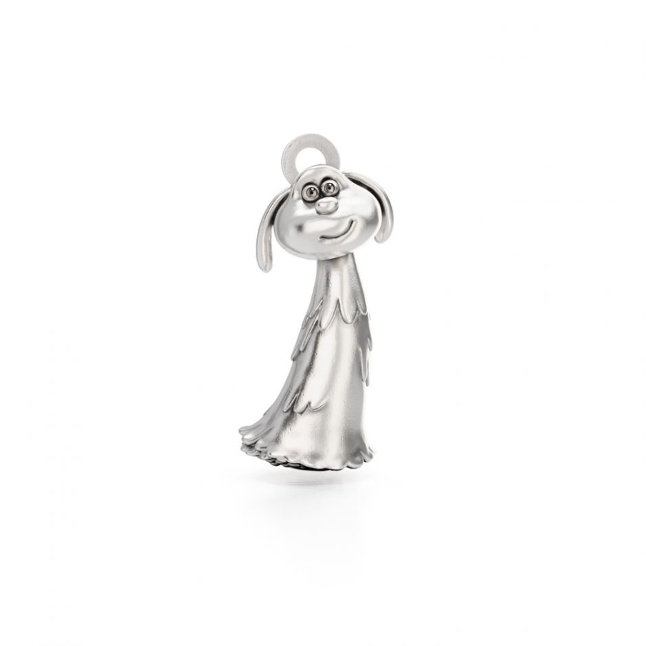 Shaun The Sheep - Sterling Silver Lu-La Charm