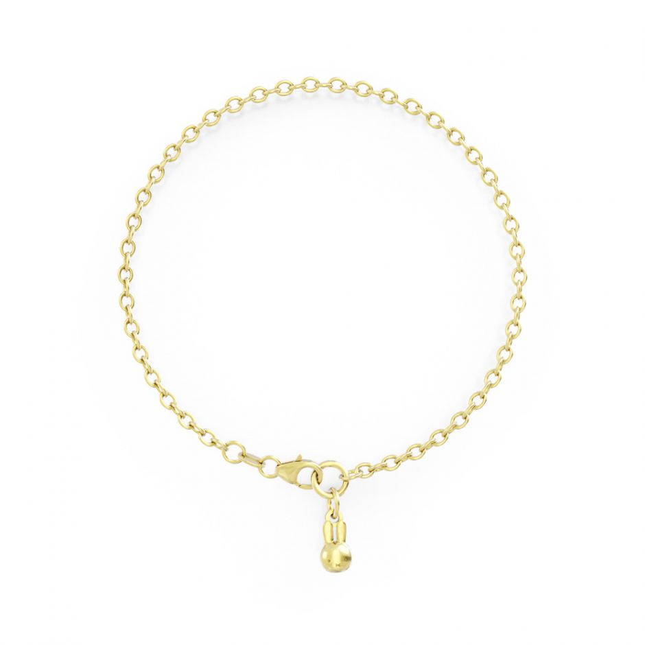 Miffy - 18ct Gold Single Bracelet Set