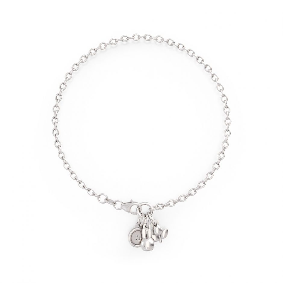 Miffy - Sterling Silver Triple Bracelet Set