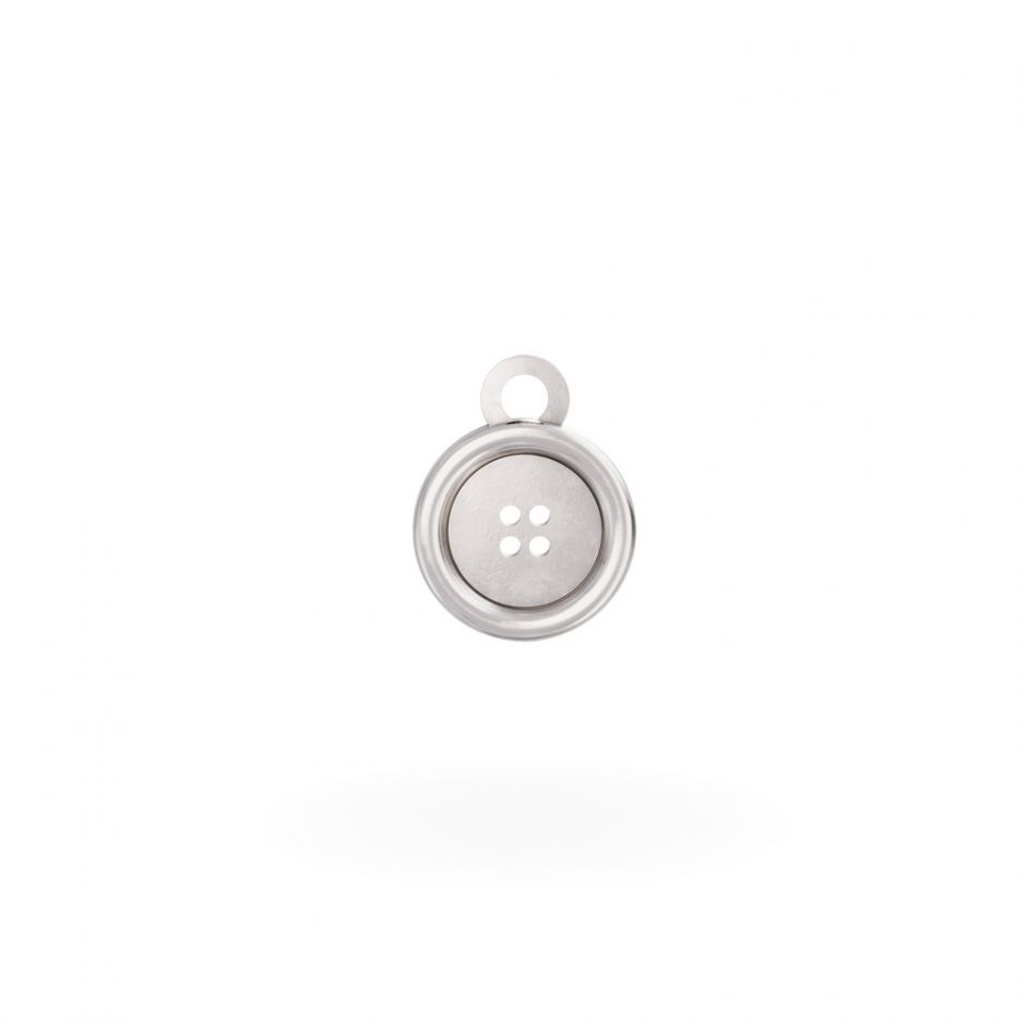 Miffy - Sterling Silver Button Mini Charm