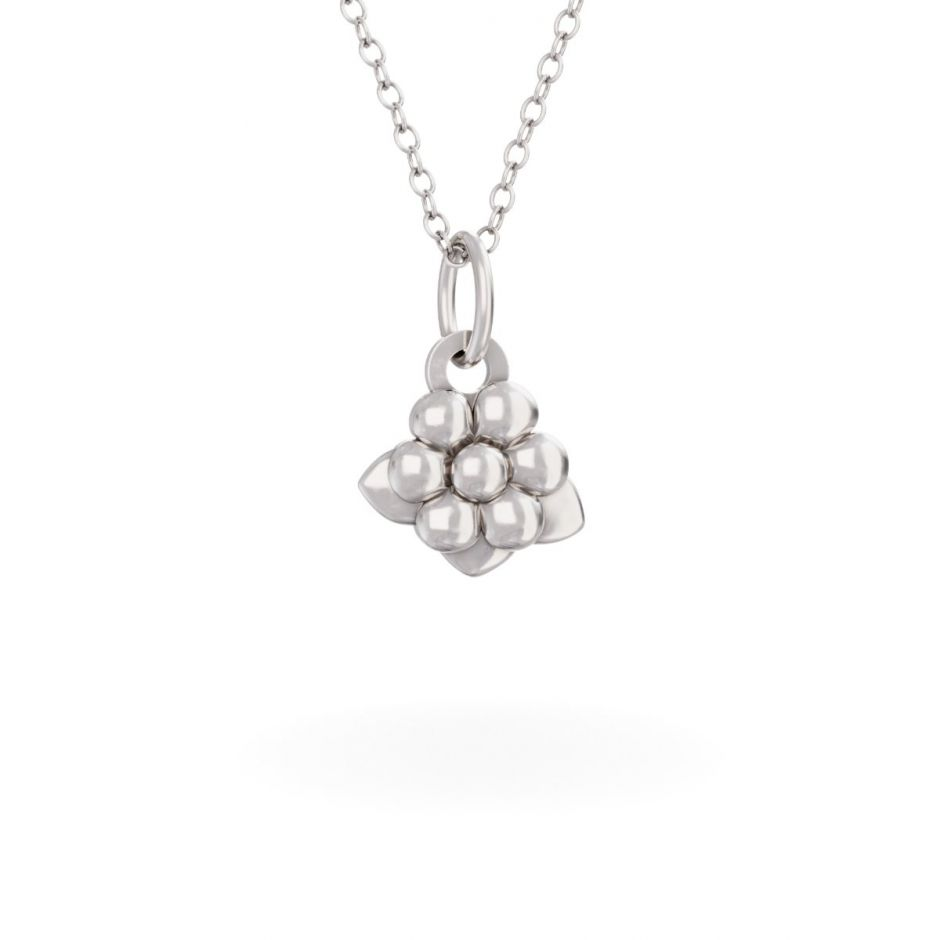 Miffy - Sterling Silver Daisy Necklace Set