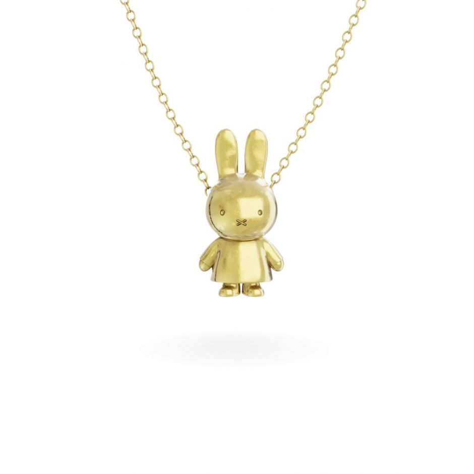 Miffy - 18ct Gold Vermeil Body Necklace Set
