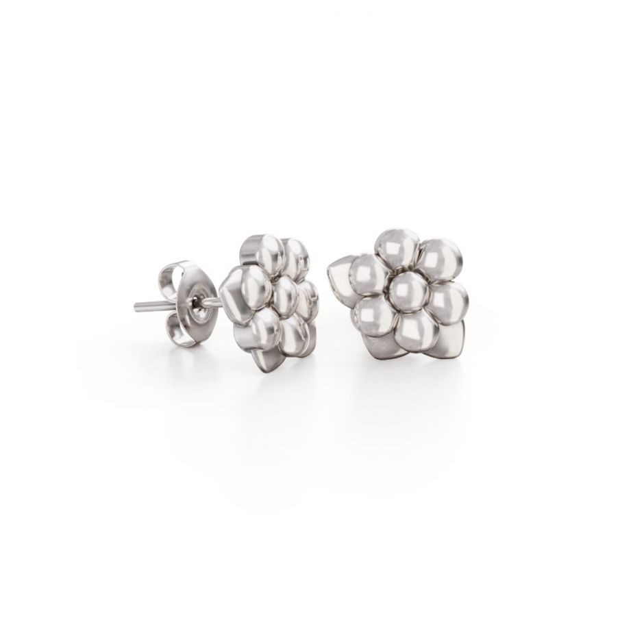 Miffy - Sterling Silver Daisy Stud Earrings