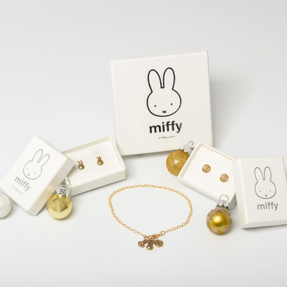 Miffy Going for Gold Jewellery Set