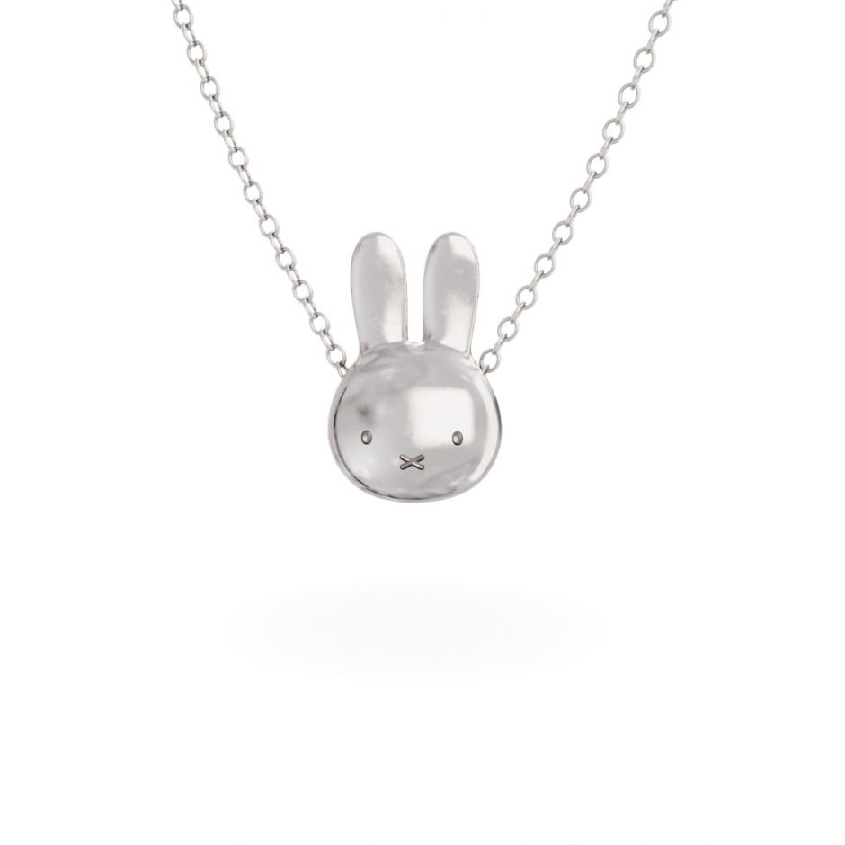 Miffy - Sterling Silver Large Head Necklace Set