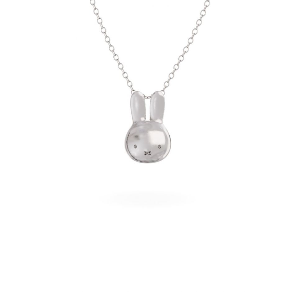Miffy - Sterling Silver Mini Head Necklace Set