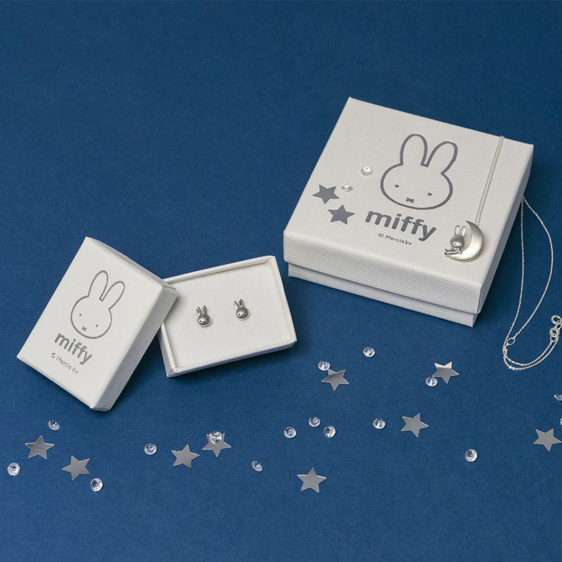 Miffy Silvery Moon Jewellery Set