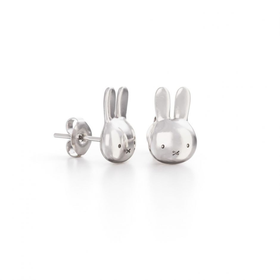 Miffy - Sterling Silver Mini Head Studs
