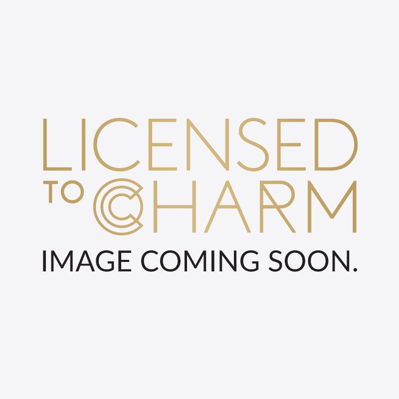Silver Pearl Drop Hoop Earrings