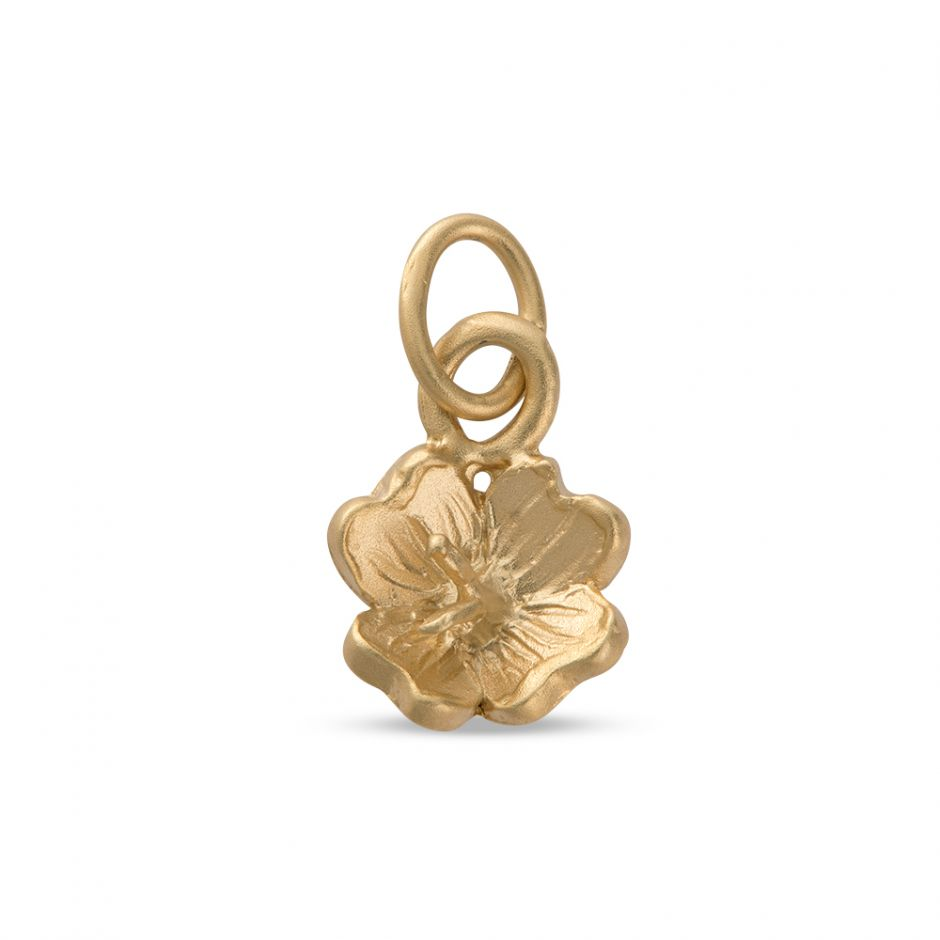 Licensed to Charm - Gold Vermeil Primrose Charm