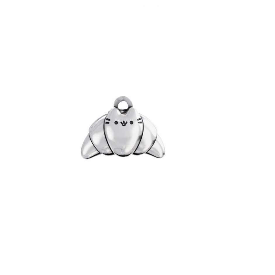 Pusheen Croissant Charm Sterling Silver