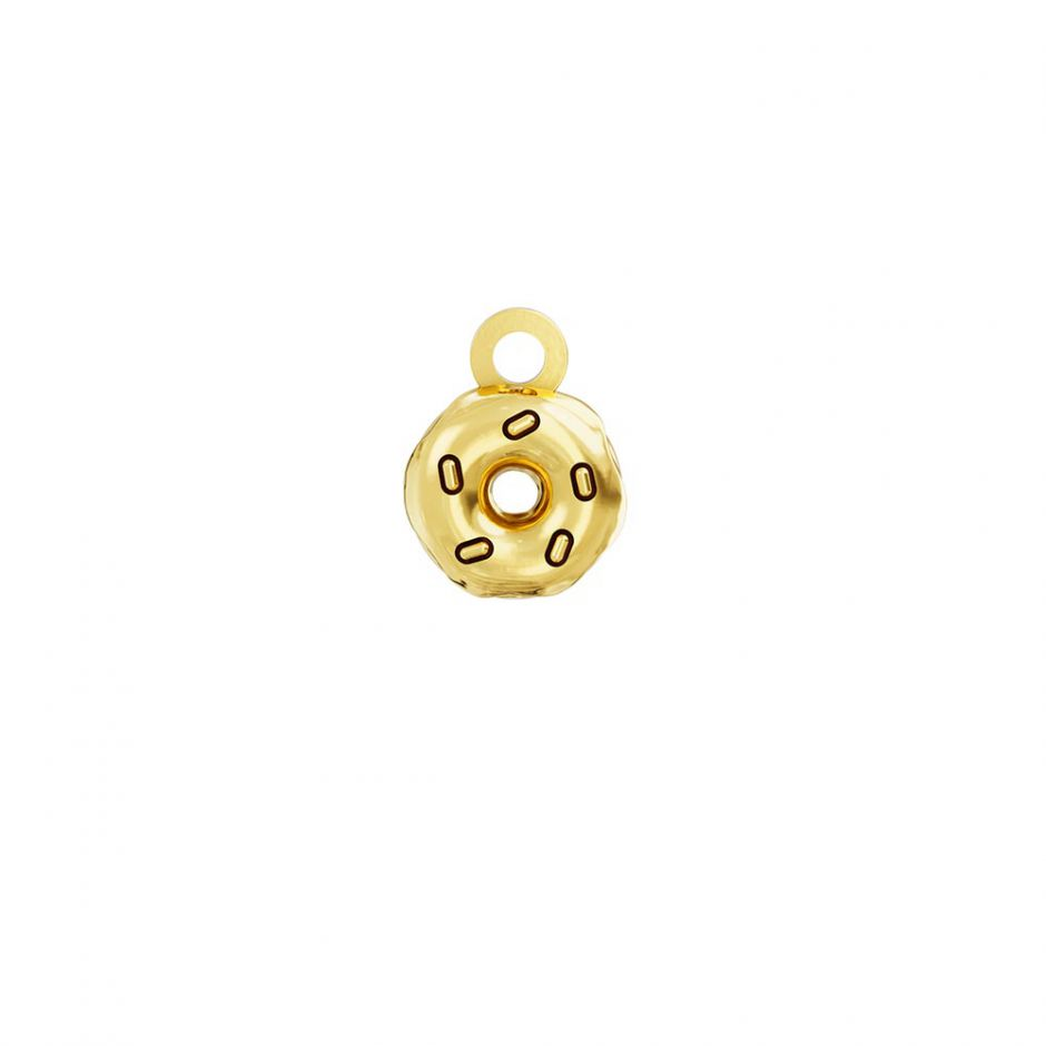 Pusheen 18ct Gold Vermeil Donut Charm
