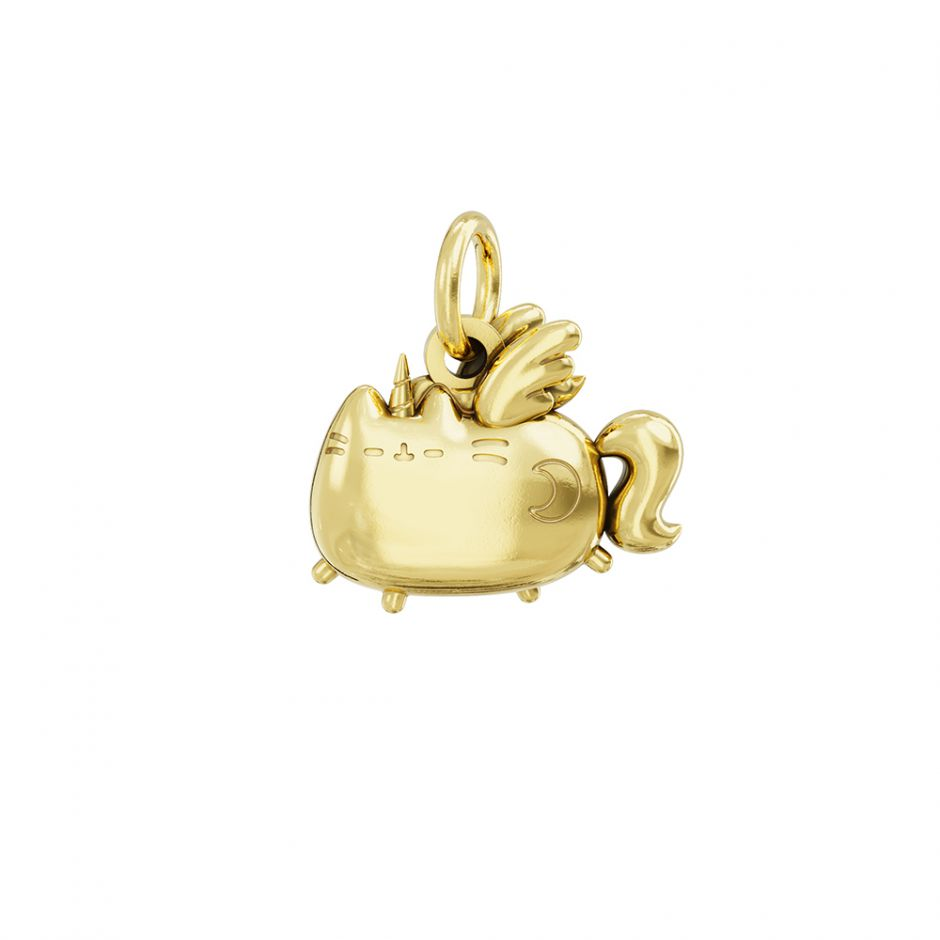 Super Pusheenicorn 18ct Gold Vermeil Charm