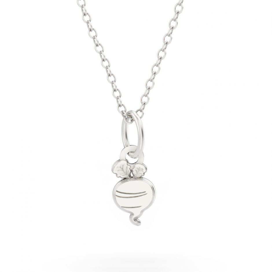 Shaun The Sheep - Sterling Silver Radish Necklace Set