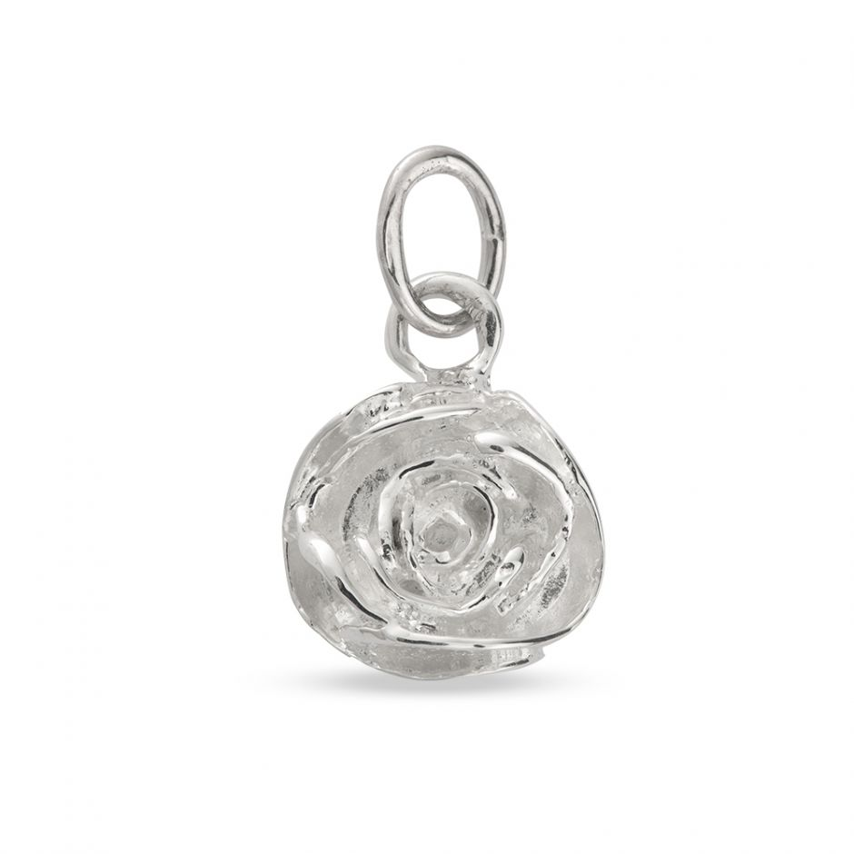 Licensed to Charm - Sterling Silver Rose Charm