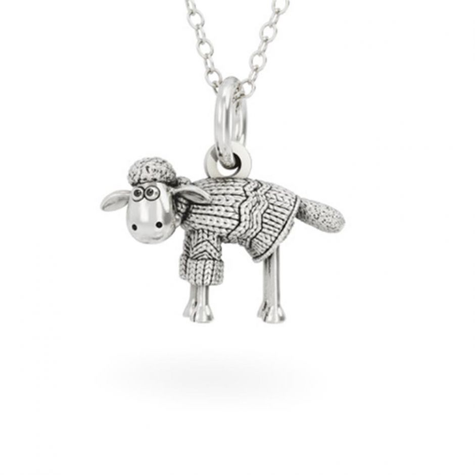 Sterling Silver Shaun in a Jumper Necklace