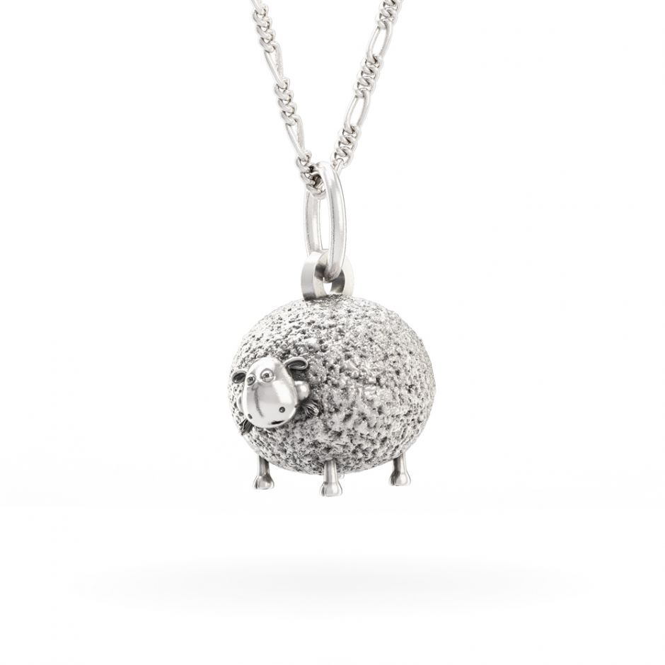 Shaun The Sheep - Sterling Silver Shirley Necklace Set