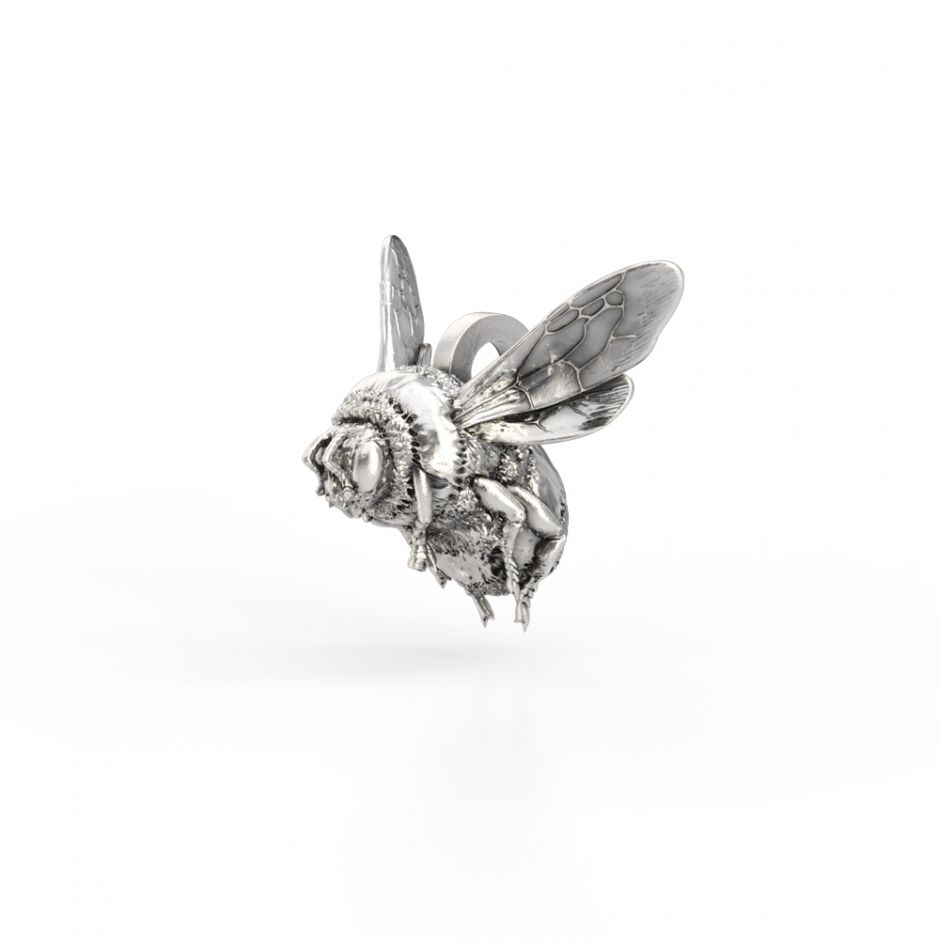 Watership Down - Sterling Silver Bee Charm
